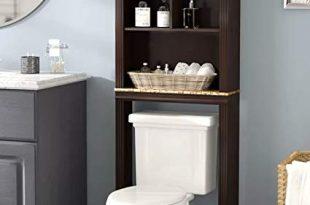 Amazon.com: Bathroom Storage Space Saver Over Toilet Cabinet