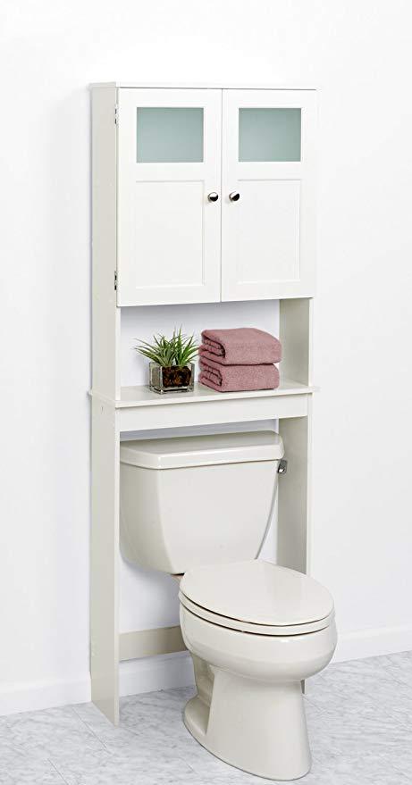 Amazon.com: Zenna Bathroom Storage Space Saver Over Toilet Cabinet