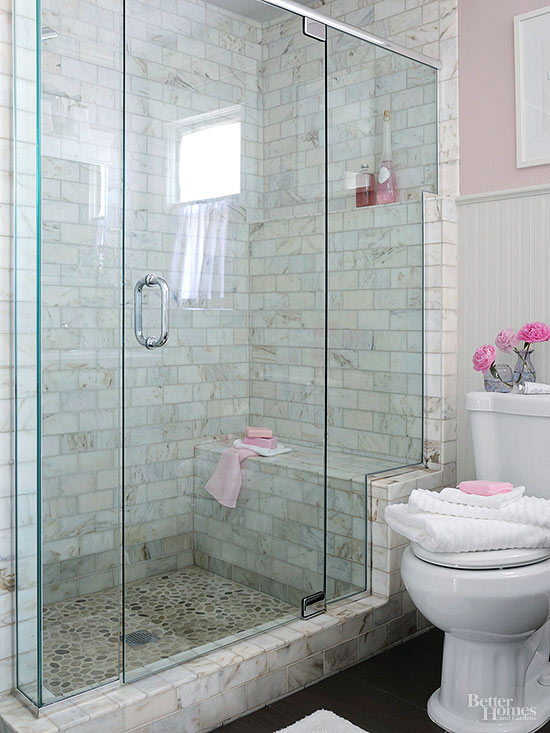 Walk-In Showers for Small Bathrooms | Better Homes & Gardens