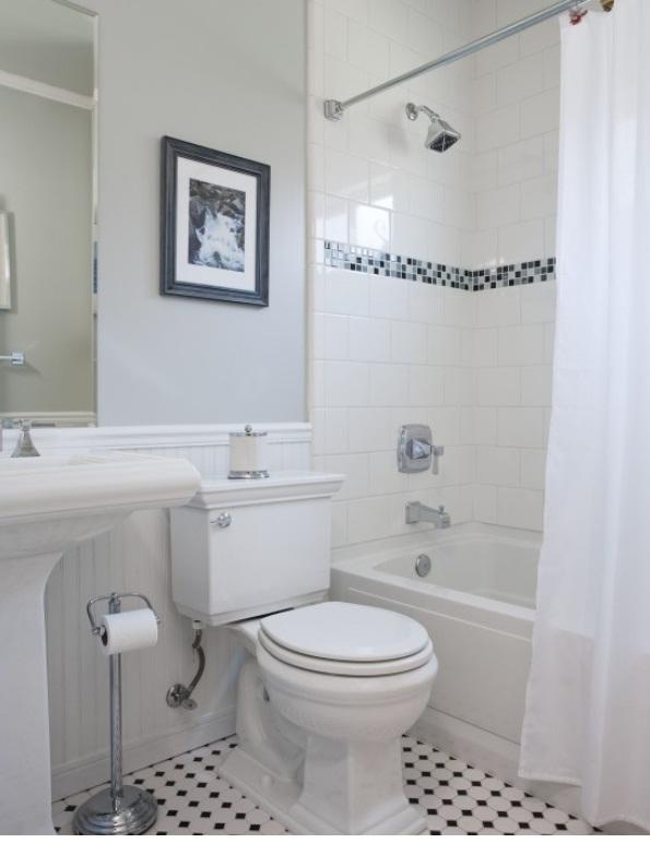 Tile Ideas For Small Bathrooms NRC Bathroom Intended Tiles 15