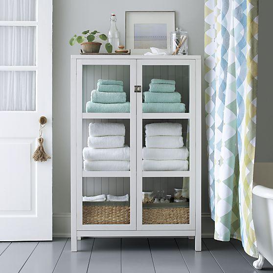 Ribbed White Bath Towel in 2019 | Storage & Organization | Bathroom