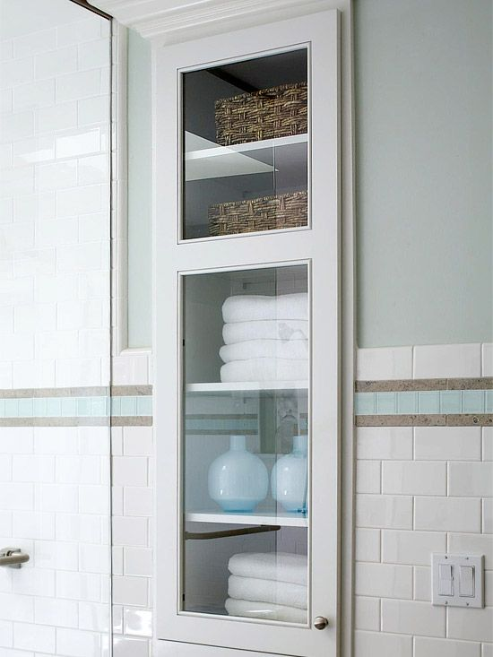 21 Smart Ways to Store a Whole Lot More in Your Bathroom in 2019 | H