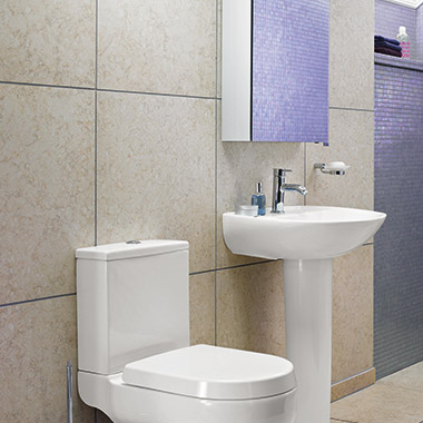 Tips for tiling a small bathroom | bathstore