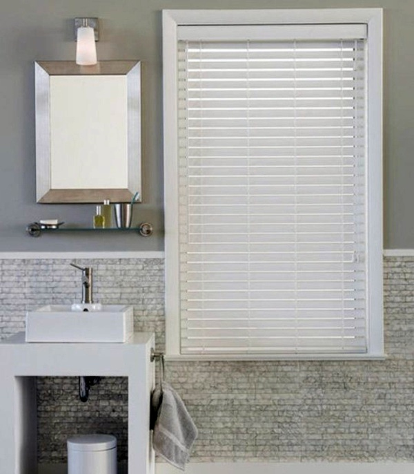5. blinds bathroom window blinds bathroom blinds ideas impressive grey  bathroom with window covered by horizontal