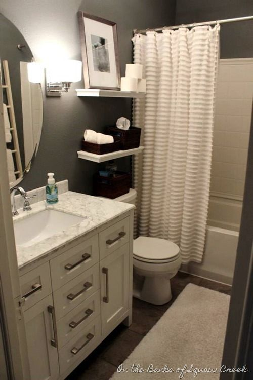 Love Your Little House: Home Tour and 6 Tips | Bathroom ideas