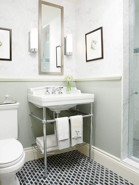Small Bathrooms | Better Homes & Gardens