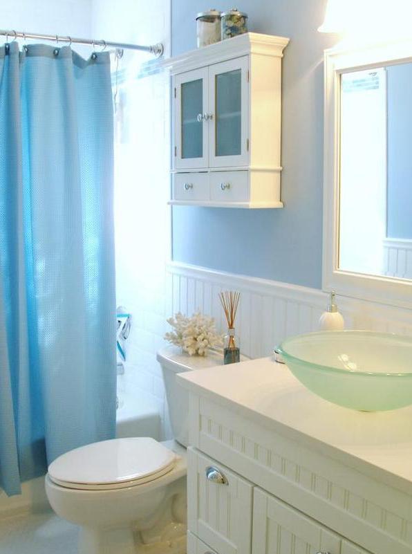Interior Design Gallery: Beach Theme Bathroom Decor