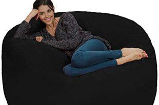 Amazon.com: Chill Sack Bean Bag Chair: Giant 5' Memory Foam