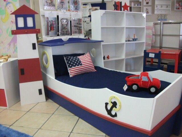 Bedroom , 10 Ultimate Boat Beds For Boys : Boat Bed For Boy