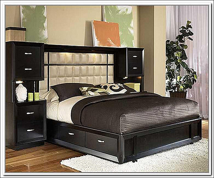 Diy King Bed Frame Headboard with Storage Biblegemsfo | Alysonscottageut