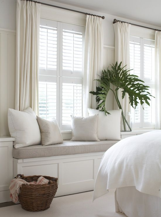 VT Interiors - Library of Inspirational Images: Dreamy Whites & Soft