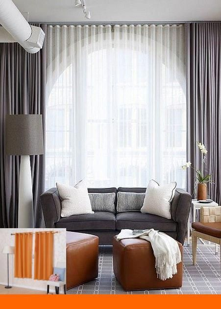 Curtain Ideas For An Arched Window #blinds #windowcoverings | Window