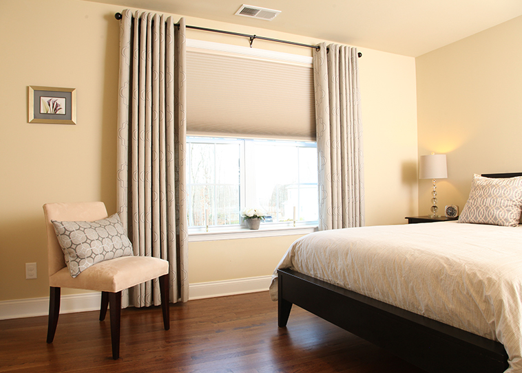 76 Best In Bedroom Curtain Ideas With Blinds Home | Home Design