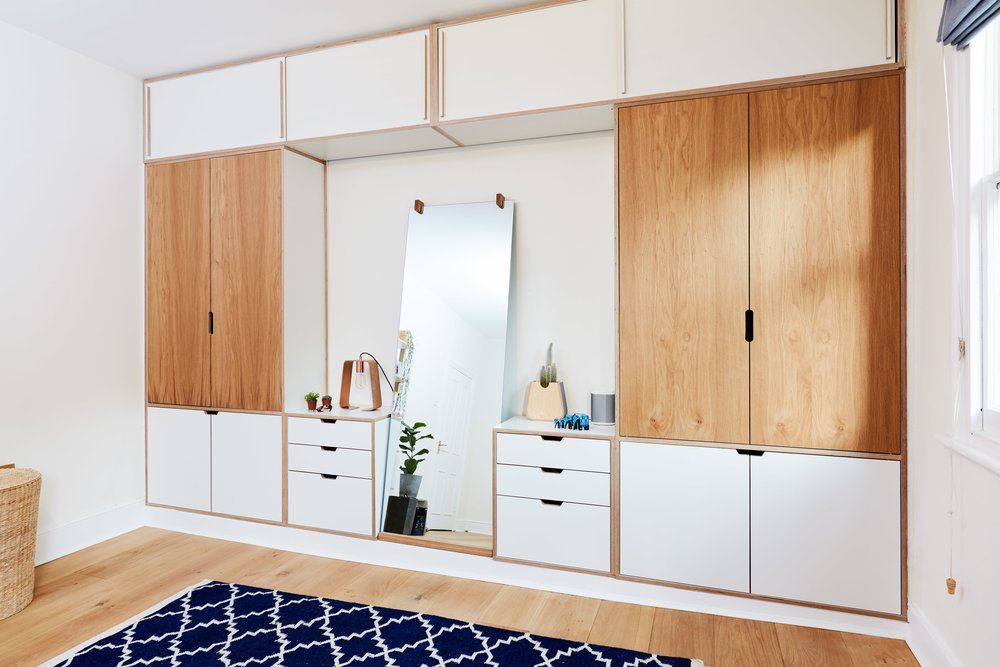 Lozi - Bespoke Plywood Furniture - Bespoke Wardrobes