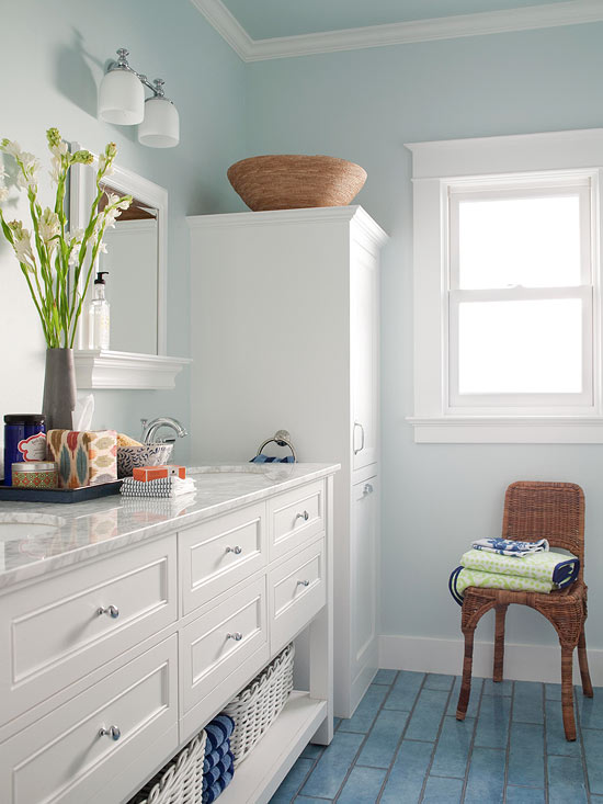 Small Bathroom Color Ideas | Better Homes & Gardens