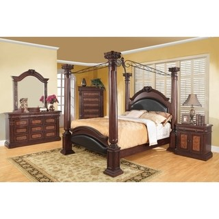Buy King Size Canopy Bed Bedroom Sets Online at Overstock | Our Best