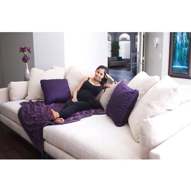This sofa is so killer! The best cuddle spot ever. | Home is where