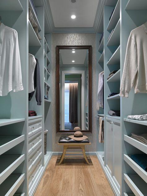70+ Elegant Walk In Closet Design Ideas, Layout dan Tips | Home