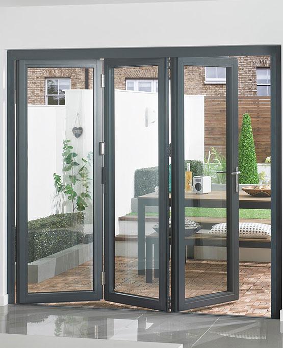Aluminium Bi-Fold Doors Surrey and Middlesex - Novaglass