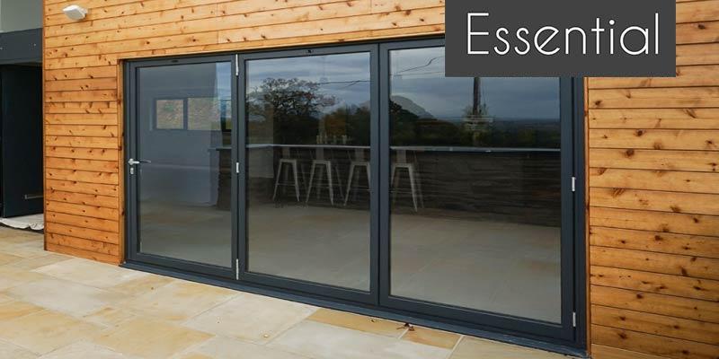 Aluminium BiFold Doors | John knight Glass | NW, UK