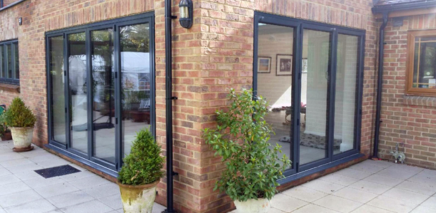 Bi-Fold Doors, Southampton | Aluminium Folding Doors Prices - CDA Ltd