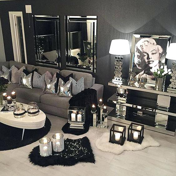 Various Silver Bedroom Decor Black White And Silver Bedroom Decor