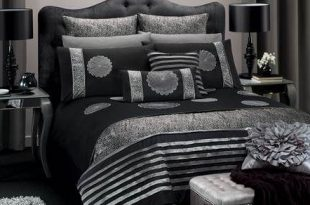 Black and Silver Bedroom Ideas | For the Home | Silver bedroom
