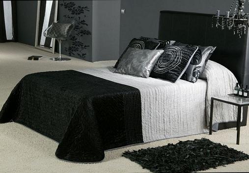 Black And Silver Bedroom Designs - JO Home Designs