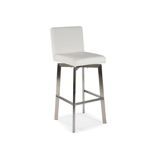 Moe's Home Collection Giro White Counter Stool Eh 1039 18 | Bellacor