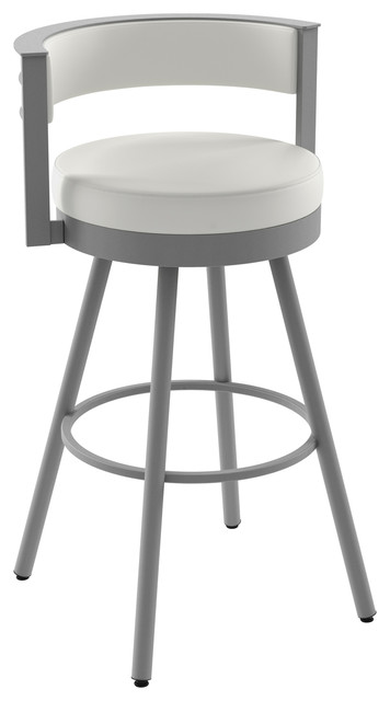 Amisco Eller Swivel Stool - Transitional - Bar Stools And Counter