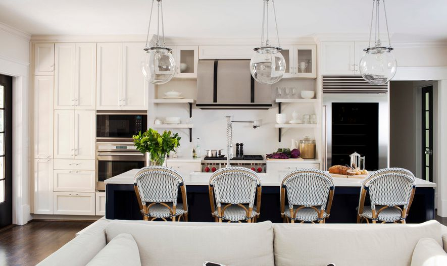 Black And White Counter Stools