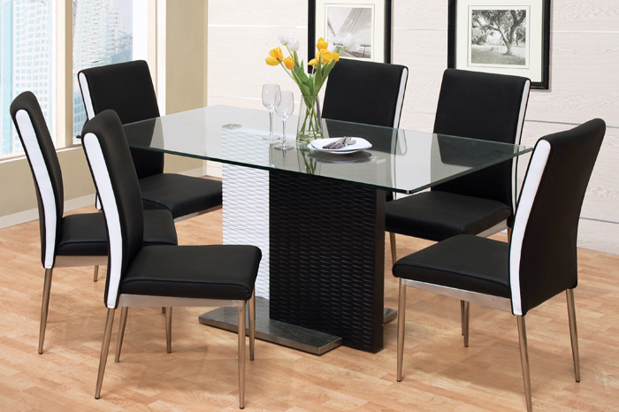 Black And White Dining Room Chairs Design Ideas u2014 The Home Redesign