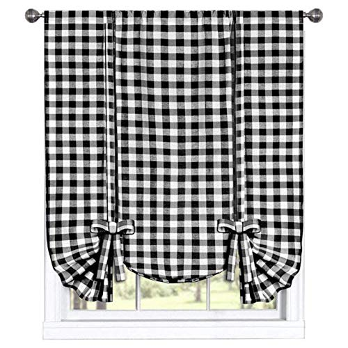 Black and White Kitchen Curtains: Amazon.com