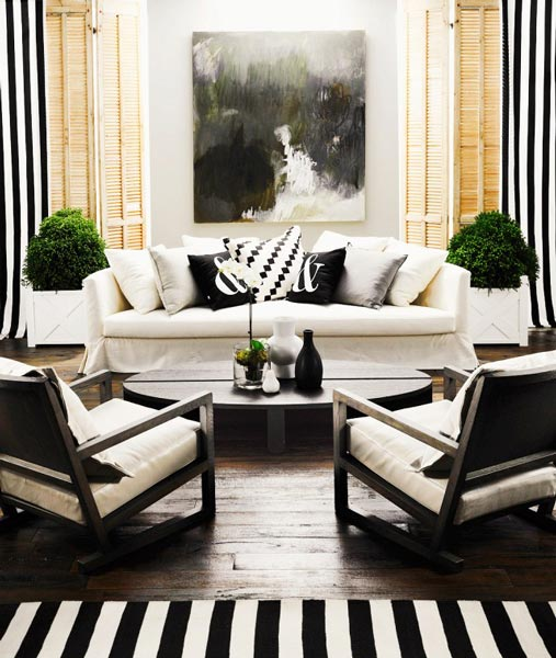 75 Delightful Black & White Living Room Photos | Shutterfly