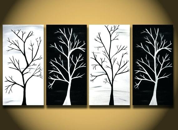 Black And White Painting Ideas | low budget interior design
