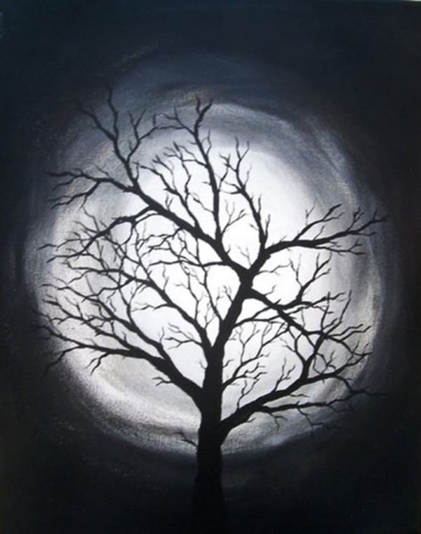 Black And White Painting Ideas