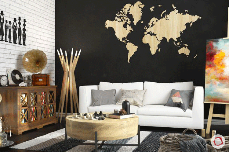4 Tasteful Accent Colors For Black And White Rooms