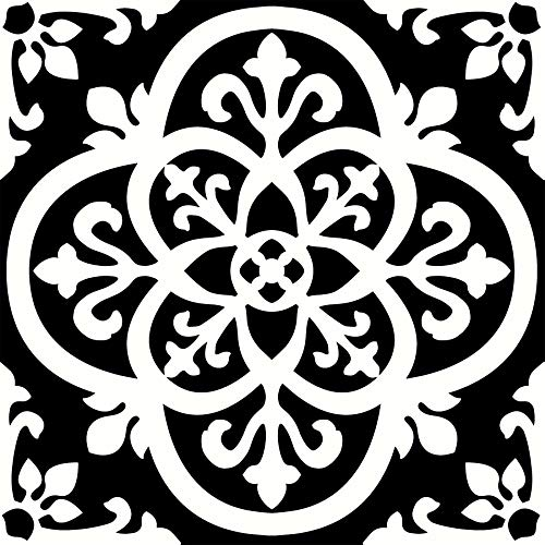 Black and White Vinyl Flooring: Amazon.com