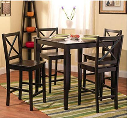 Amazon.com - 5-piece Counter Height Dining Room Set Dinette Sets