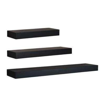 Floating Shelf - Black - Decorative Shelving & Accessories