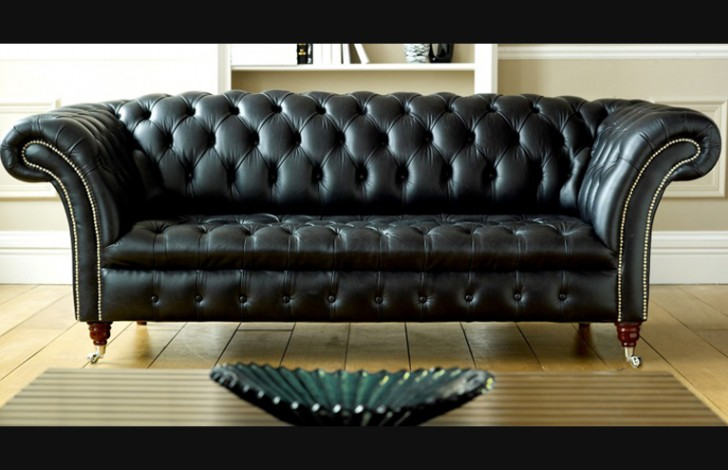 Black Leather Chesterfield | Balston | Chesterfield Company