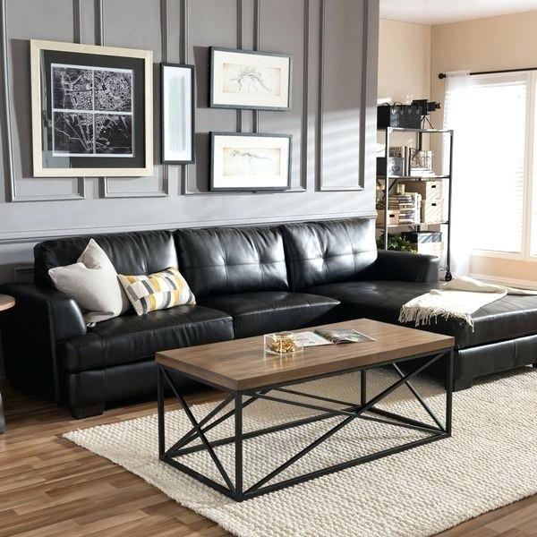 Black Leather Couch Ideas Furniture Decor Living Room Sofa Meme