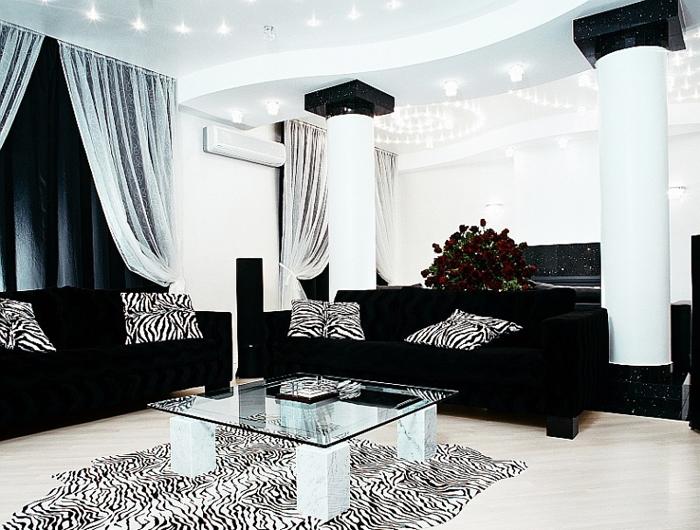 Black Leather Sofa Sets Inspiring Ideas for Living Room - hgnv