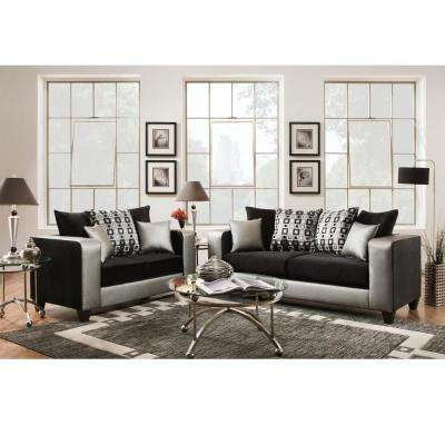 Wood - Black - Living Room Sets - Living Room Furniture - Furniture