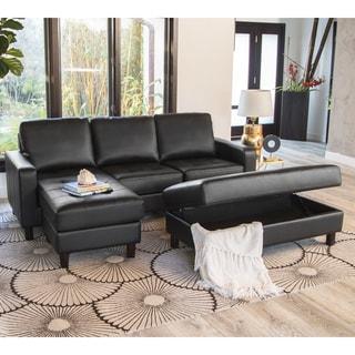 Buy Black Living Room Furniture Sets Online at Overstock | Our Best