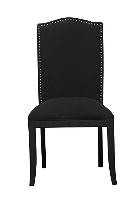 Amazon.com - Pulaski Camel Back Upholstered Dining Chair in Devon