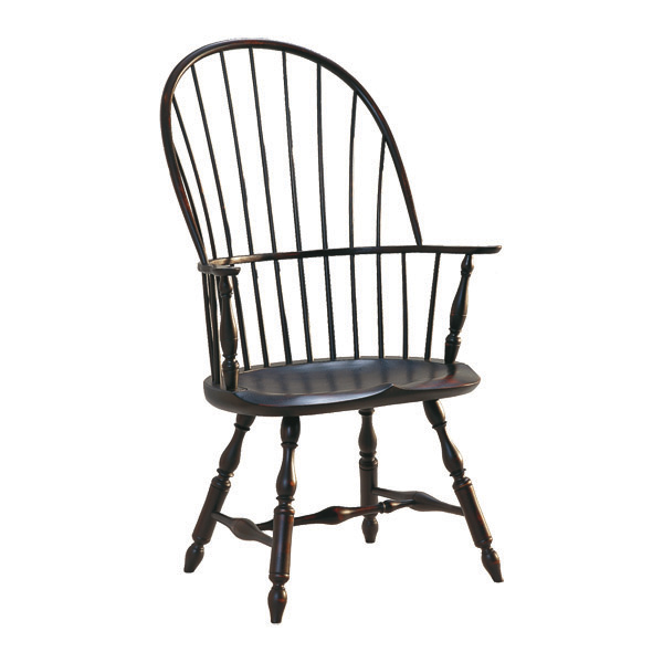 Chair: Henzey Sackback Windsor Arm Chair | Patti Bros Web Site