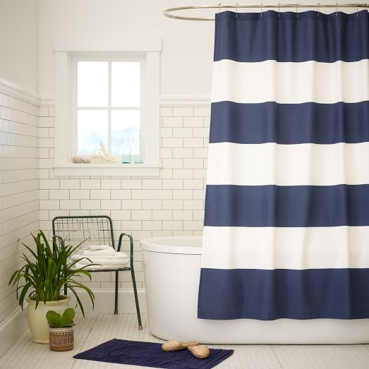 Stripe Shower Curtain | west elm
