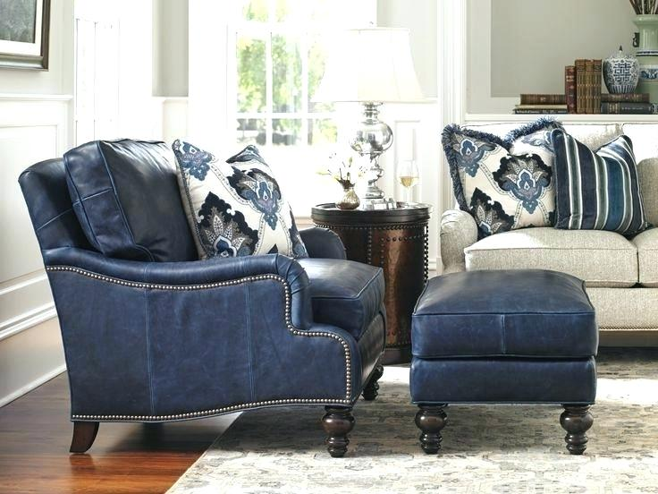 Blue Leather Chair Top Navy Blue Leather Club Chair Navy Leather