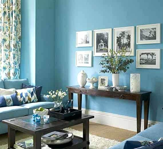 Blue Paint Colors For Living Room Blue Living Room Paint Living Room